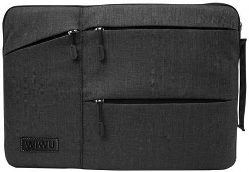 "Сумка-чехол для ноутбука WiWU Gent Sleeve 12"" (Black)"