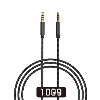 Аудиокабель WiWU YP01 AUX 3,5mm Audio Cable (Black)