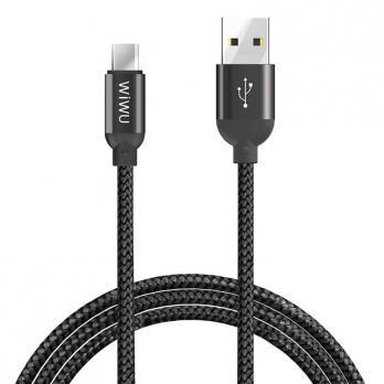 Кабель WiWU USB to micro USB Data Sync Charging Cable YZ-105 (Black)