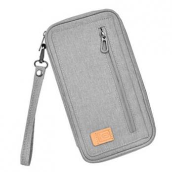 Сумка-органайзер WiWU Pioneer Passport Pouch (Grey)